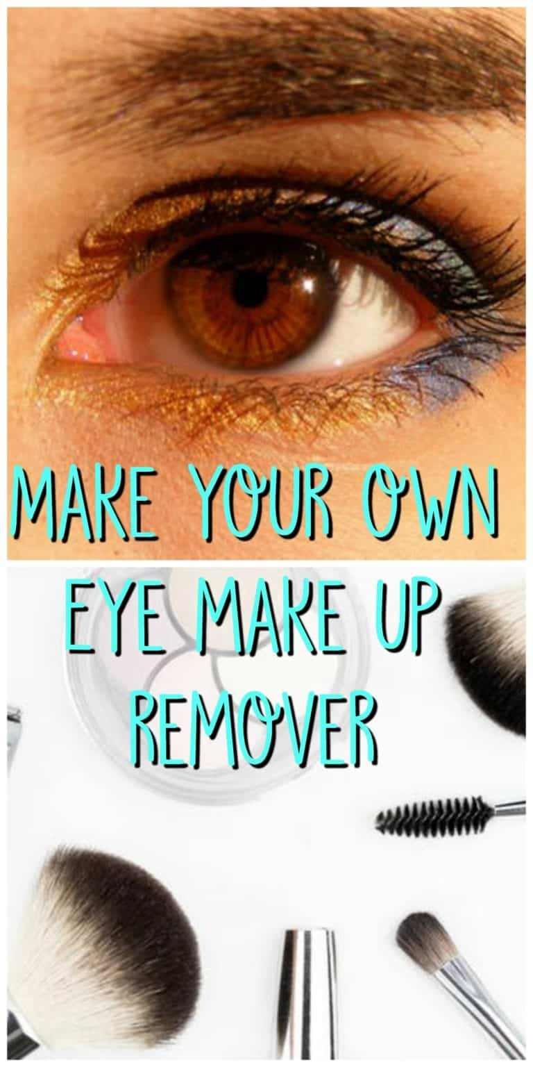 make your own eye make up remover