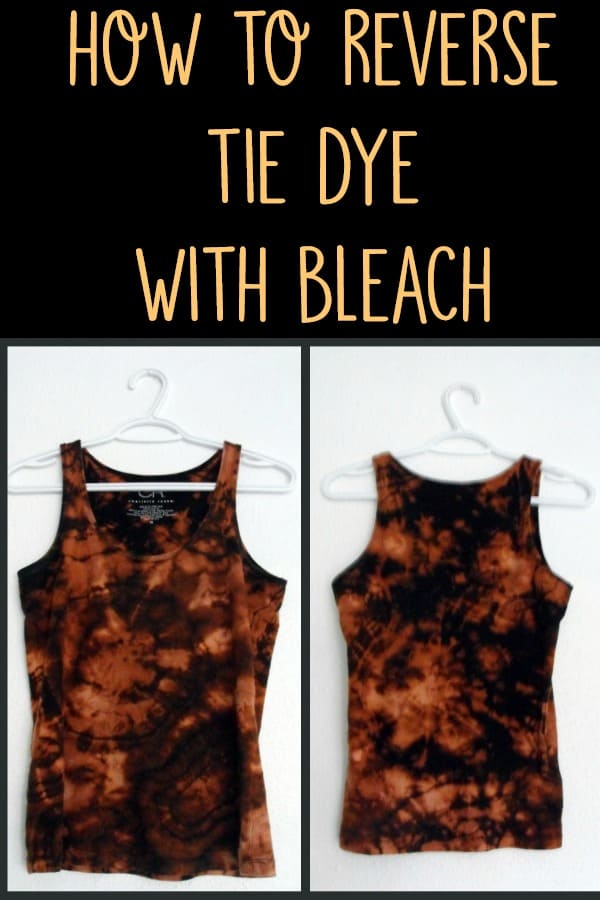 1fd220bbf7c57 how to reverse tie dye. Tie dye your clothes with bleach