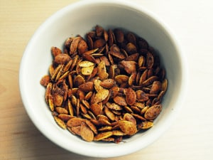 Curry Pumpkin Seed Recipe