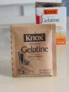 knox gelatine packet