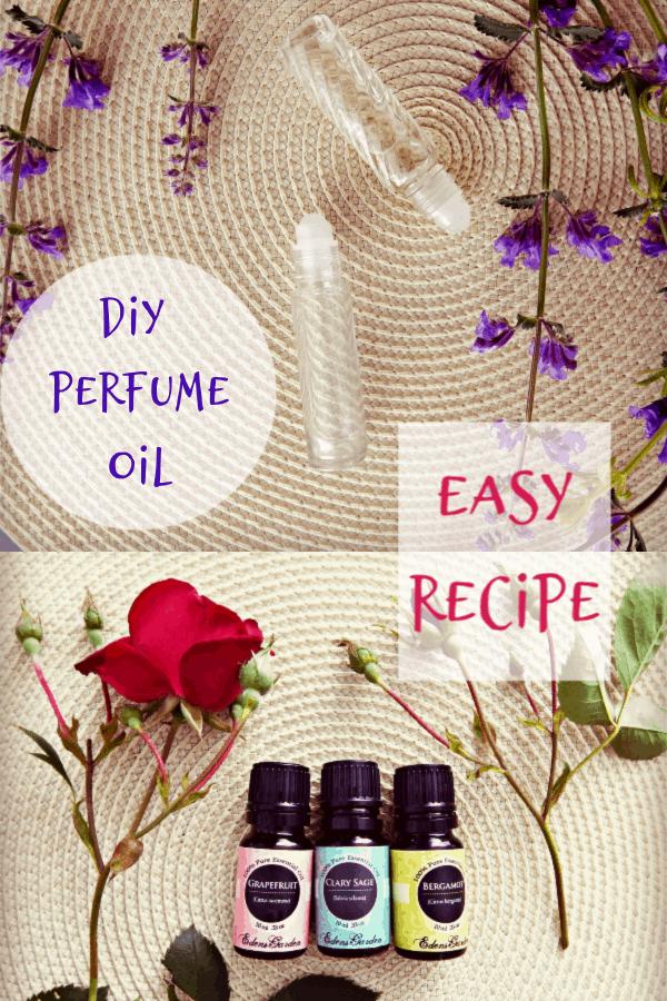Essential Oil Perfume Recipe - Crafty Little Gnome