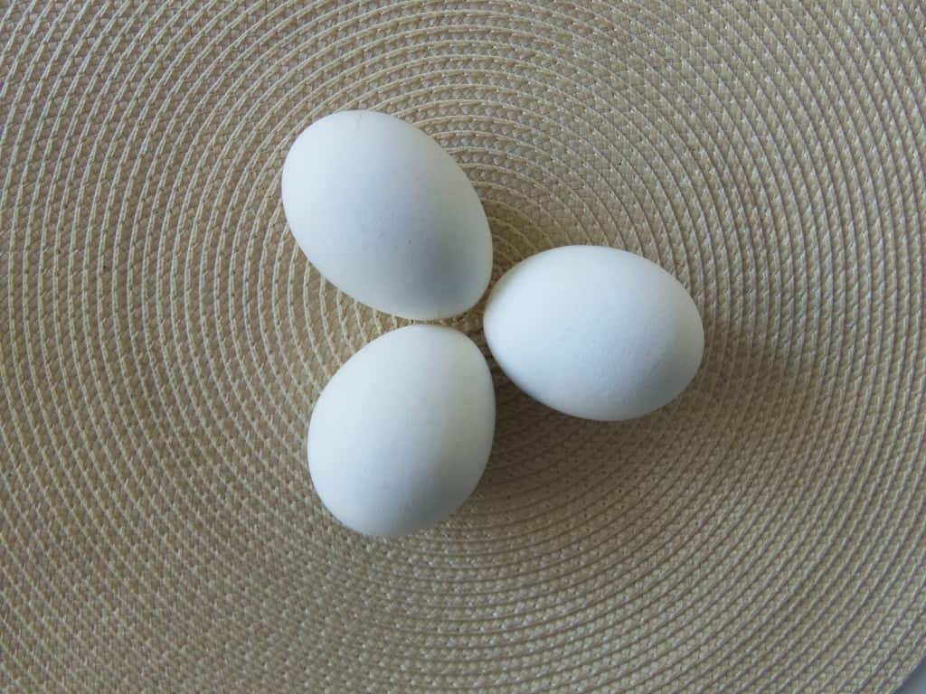 Perfect Hardboiled Eggs: Three Steps
