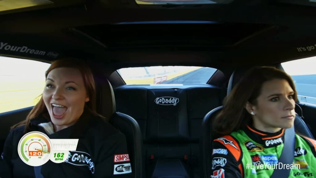 That Time I Rode With Danica Patrick in a Racecar