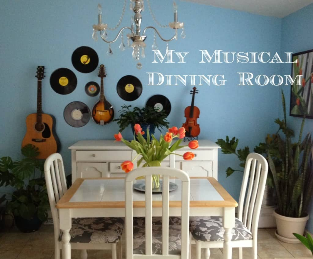 Home Tour: My Musical Dining Room