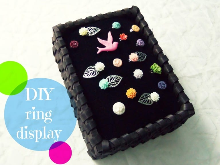 diy ring display