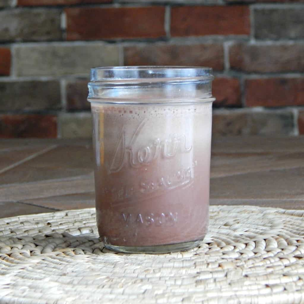 Homemade protein powder recipe with grains