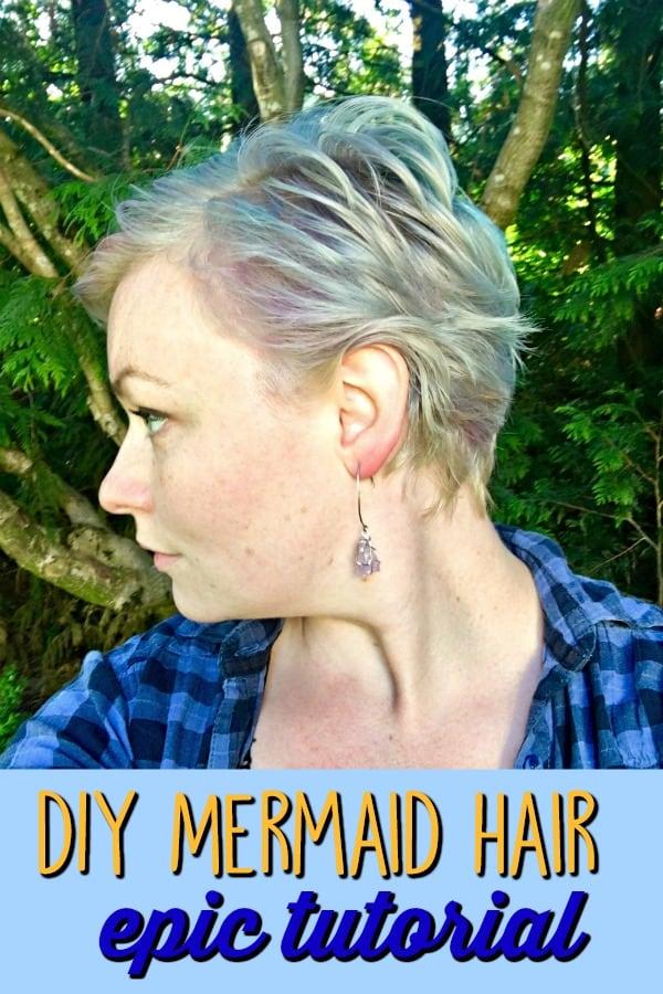 DIY Mermaid Hair Epic Tutorial