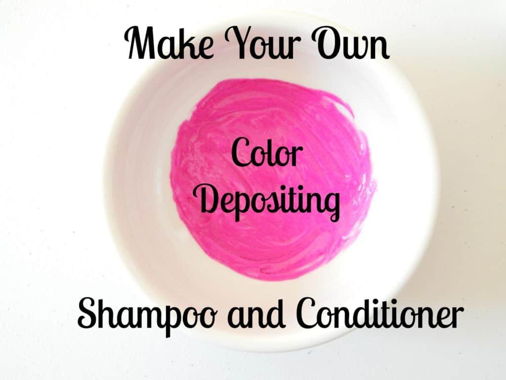 dye in shampoo