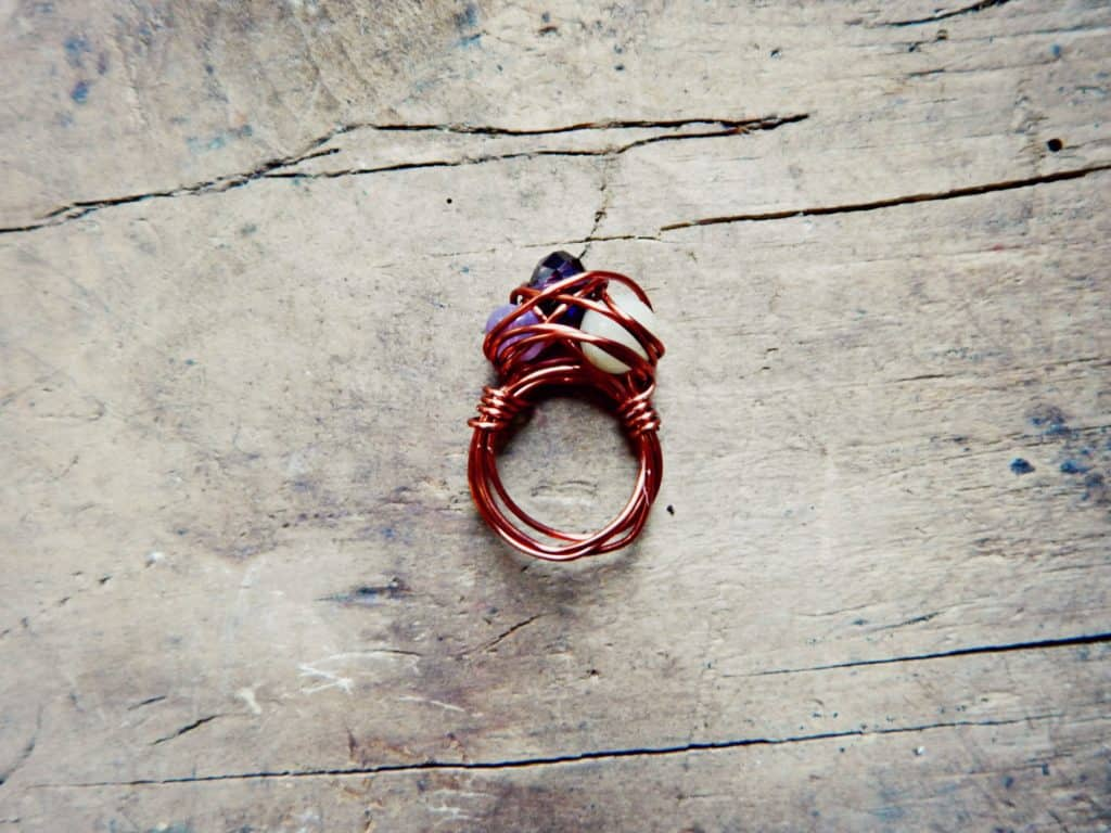 How to Make Wire Wrap Rings - Crafty Little Gnome