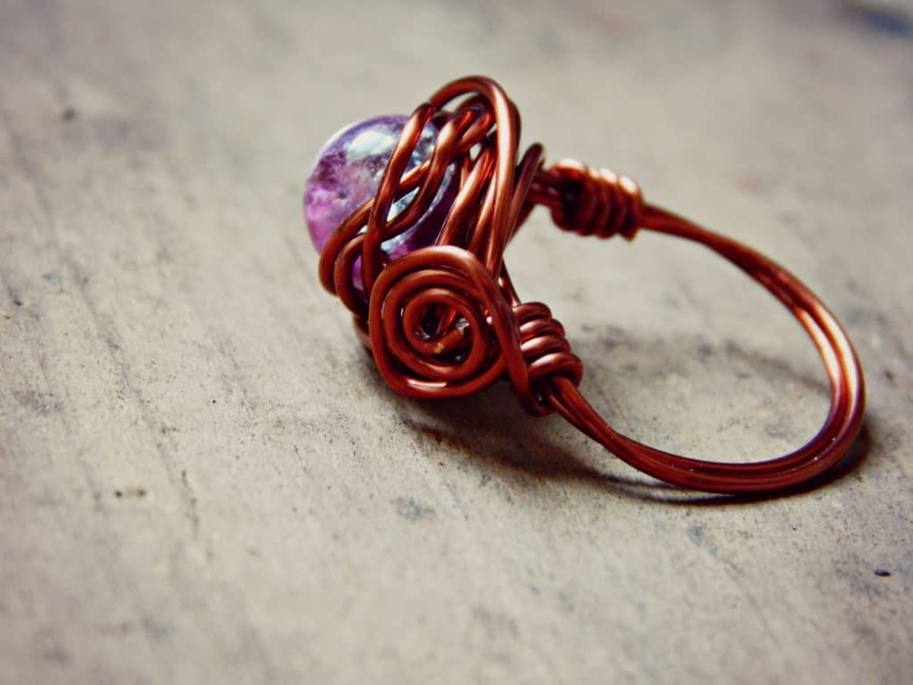 wire wrap ring 8