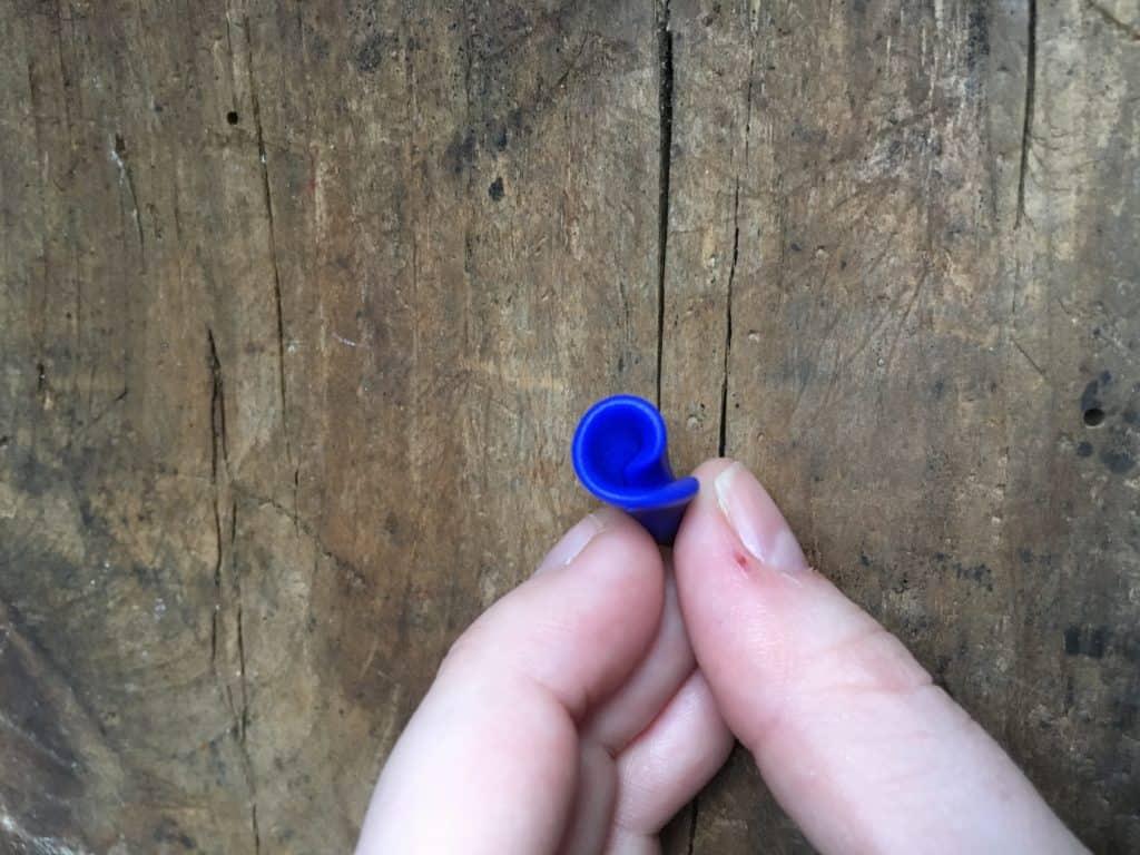 polymer rose ring