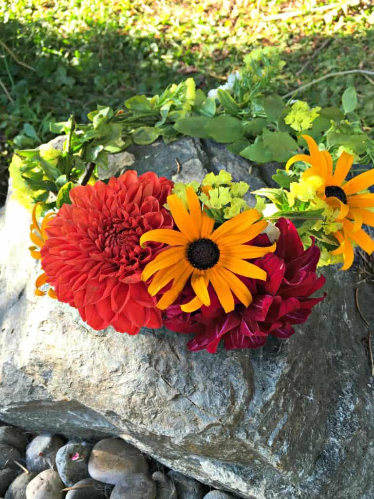 flower crown tutorial 2