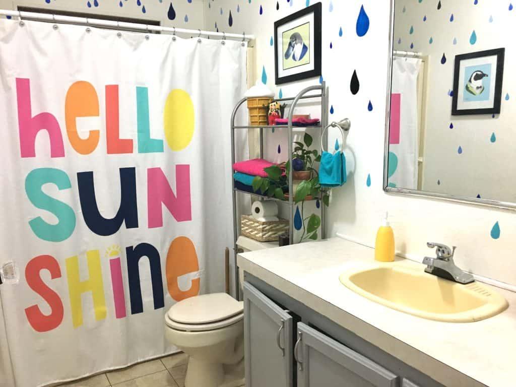 raindrop bathroom