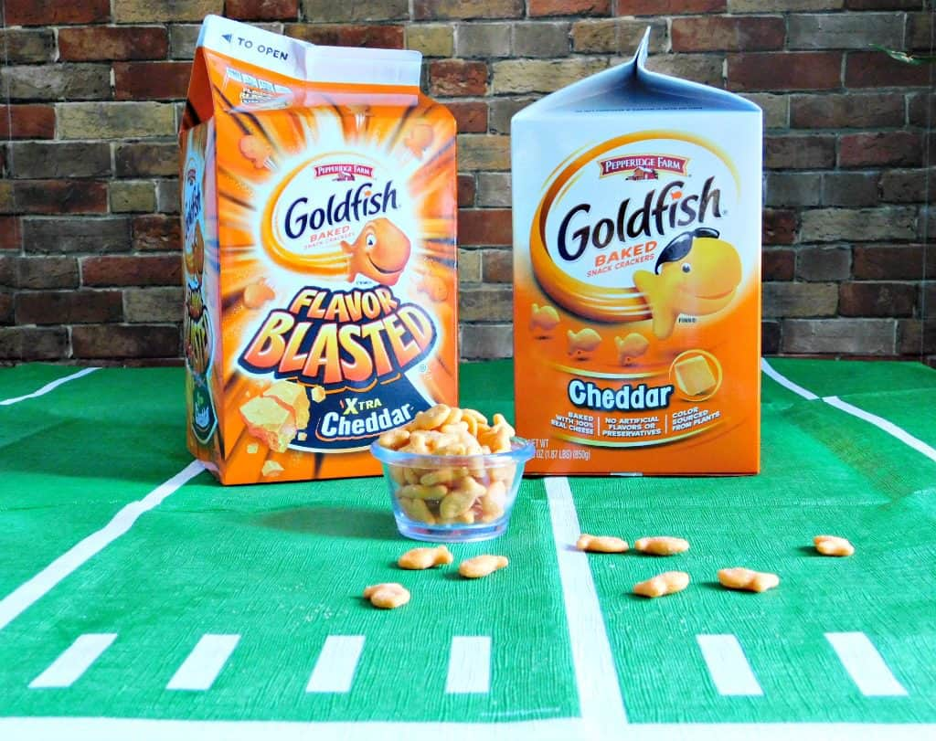 The Family Goldfish Cracker Game