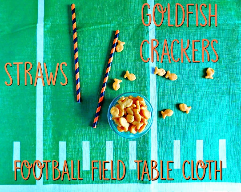 The Family Goldfish Cracker Game for the big game