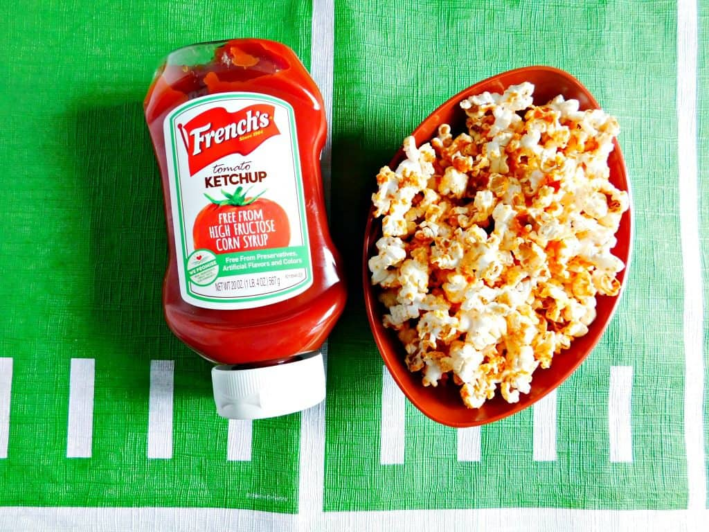 Ketchup Popcorn Recipe for the Big Game