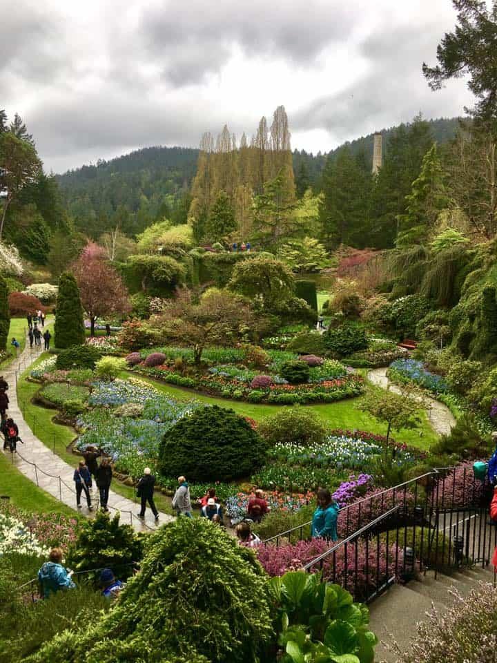 Butchart Gardens Victoria BC Botanical Gardens in British Columbia ...