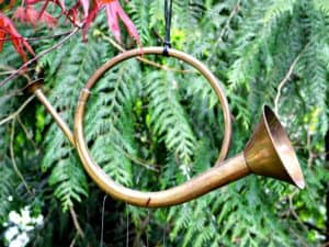 horn wind chime