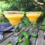 mango orange spicy margarita