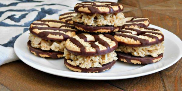 plate of keebler cookie dessert