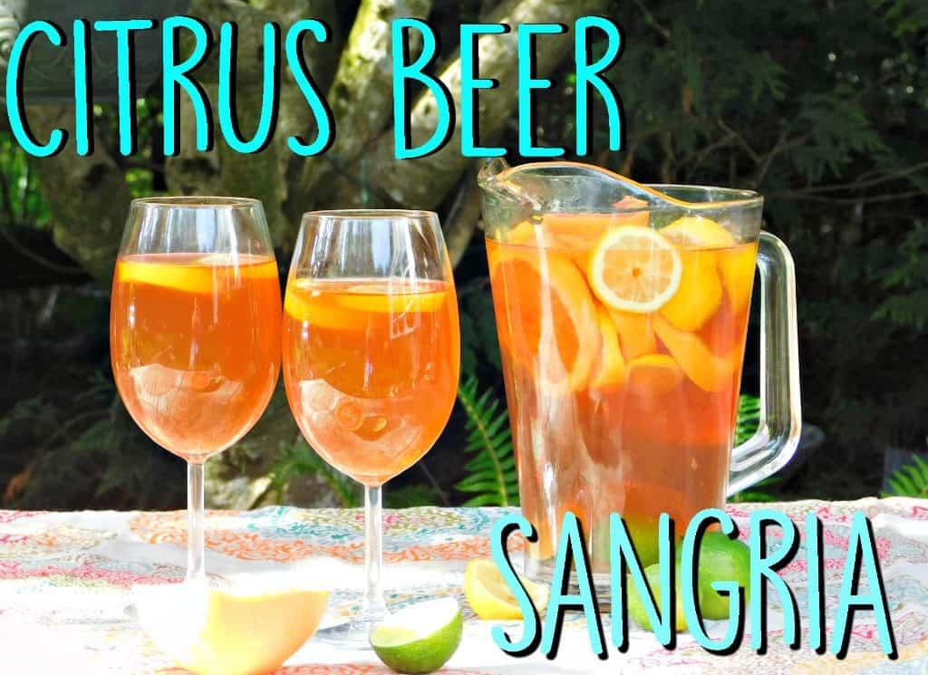 citrus beer sangria