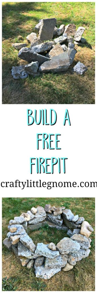 build a free fire pit