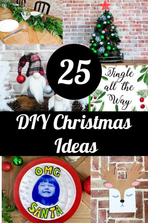 25 diy christmas craft ideas