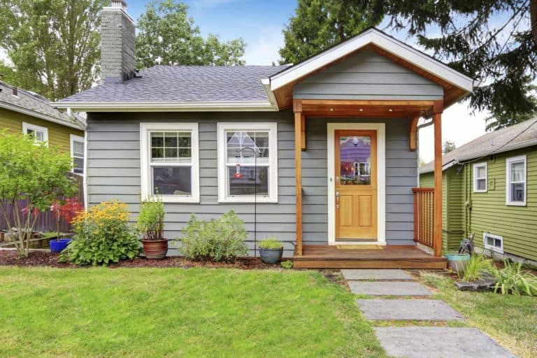 small house with curb appeal