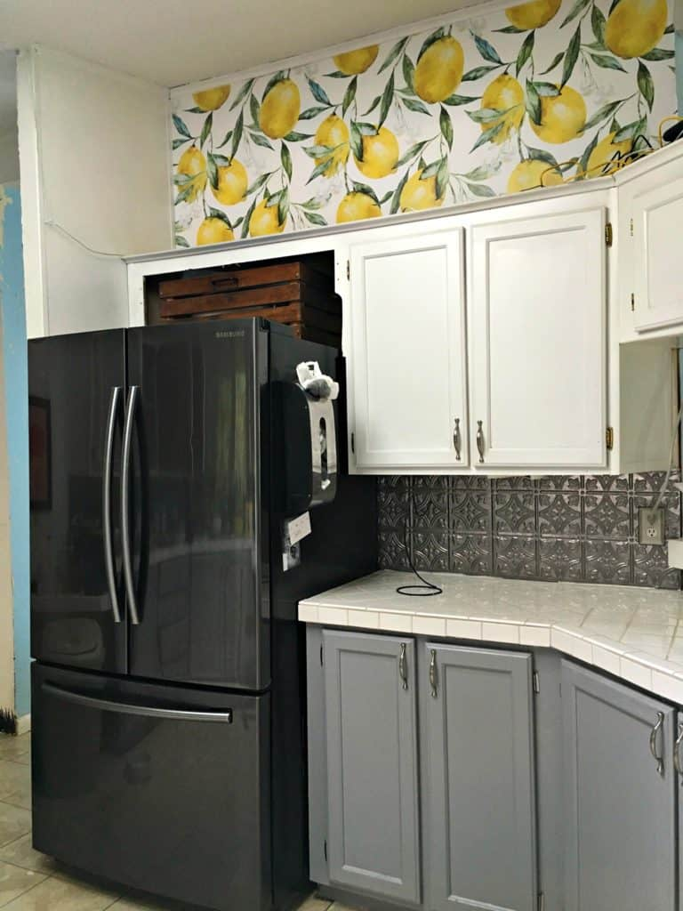 Kitchen Wallpaper Transformation Walls Need Love