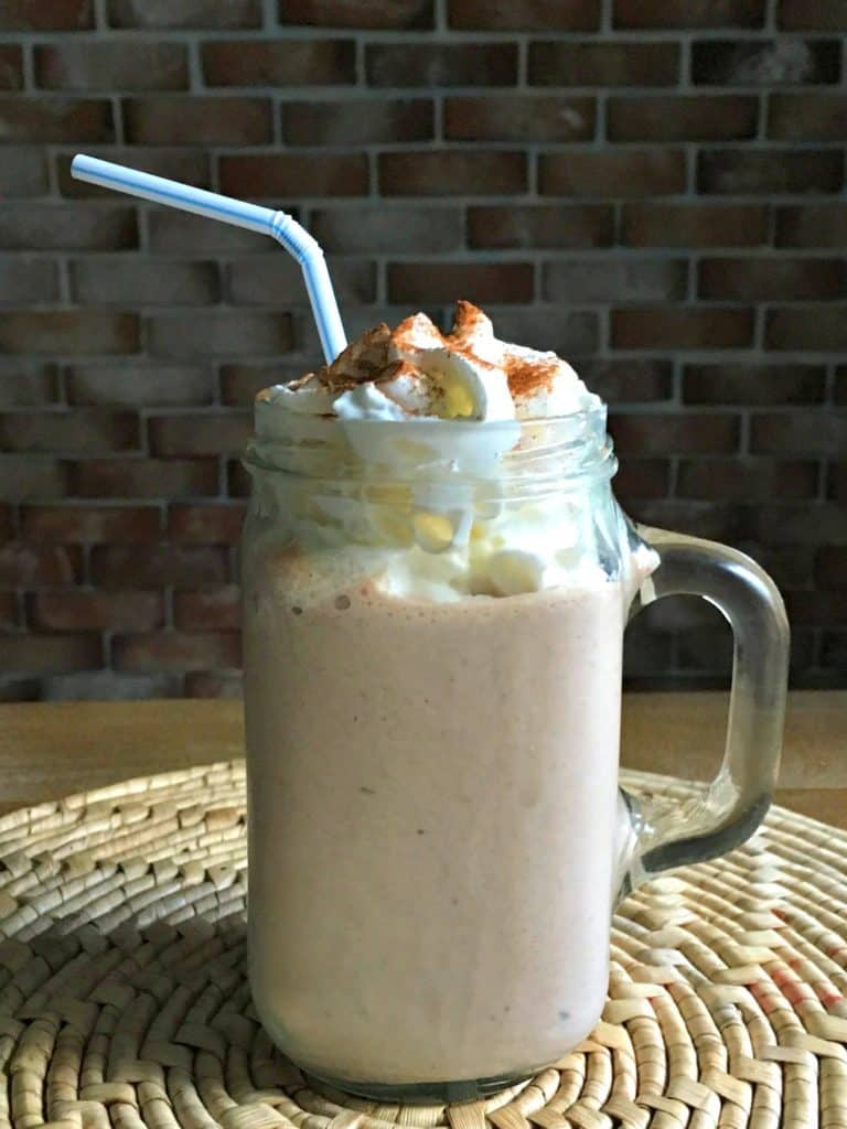 Chocolate Satin Eggnog Milkshake