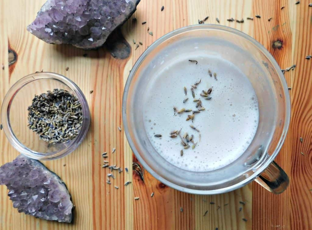 Lavender Moon Milk Recipe