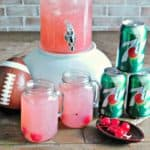 pink party punch perfect for football parties