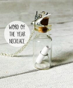 world of the year necklace