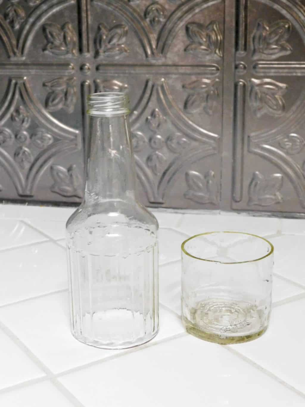 glass bottle crafts ideas the best way to cut a glass bottle for craft projects 4565