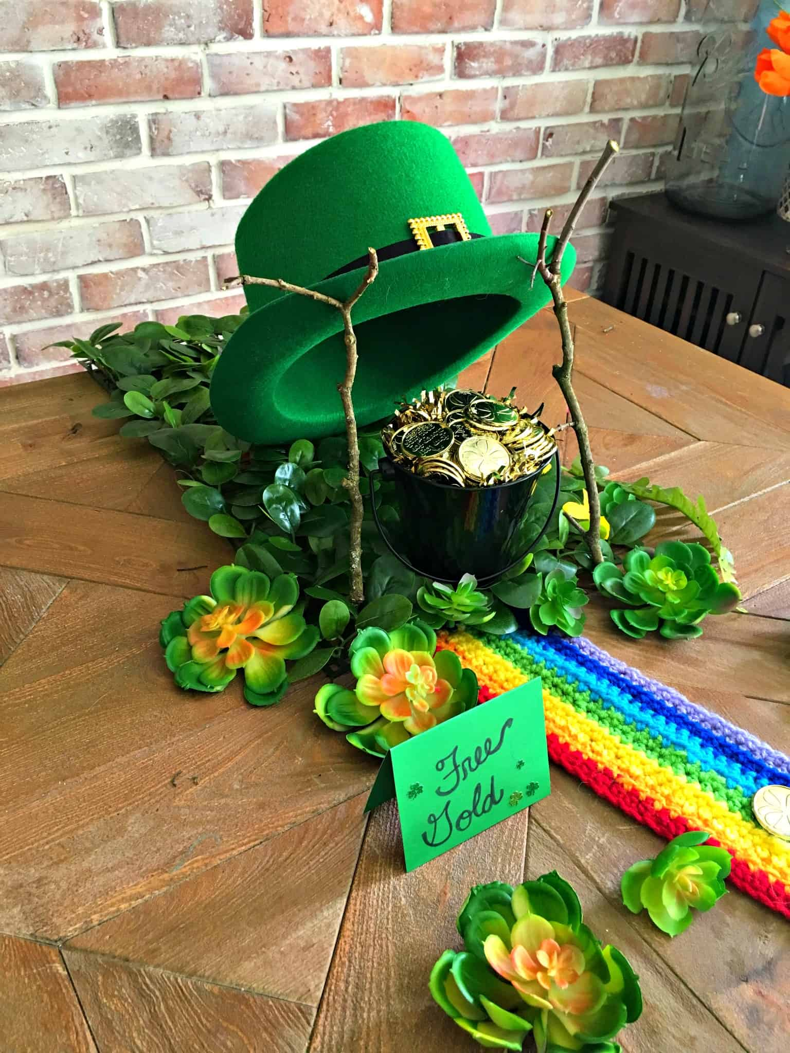 st patricks day leprechaun trap and free printable letter