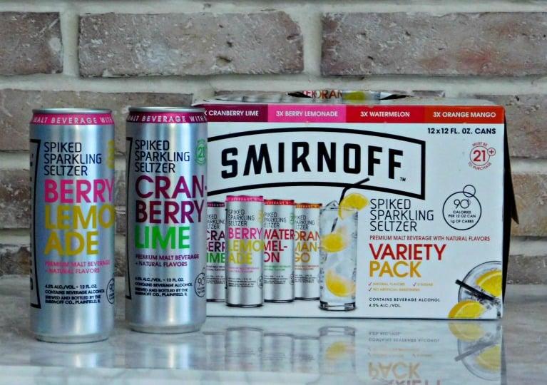 Case of Smirnoff variety pack