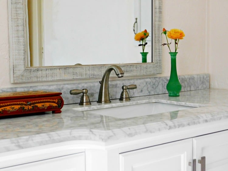 install a bathroom faucet