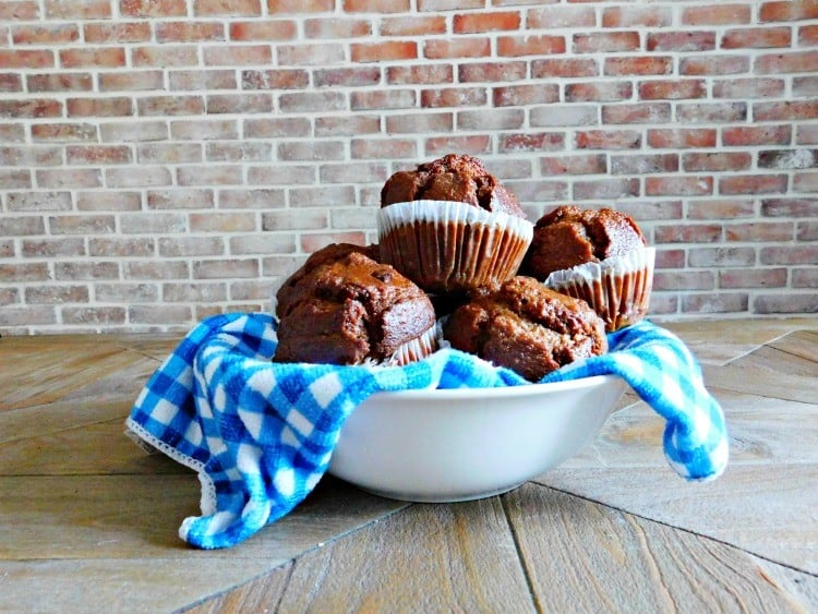 Bran Muffins with Raisins Recipe