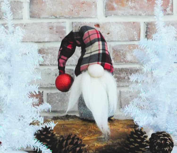 Christmas Gnomes Diy.Diy Gnome Crafty Little Gnome Scandinavian Tomte Nisse