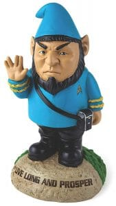 star trek garden gnome