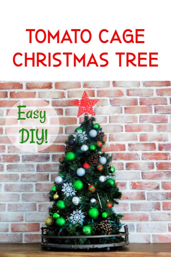 Tomato Cage Christmas Tree.Tomato Cage Christmas Tree Crafty Little Gnome