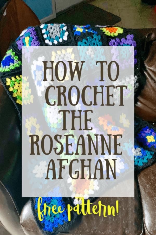Roseanne afghan