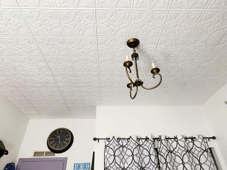 Before You Begin Installing Ceiling Tiles