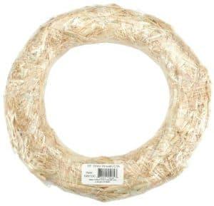 straw wreath base