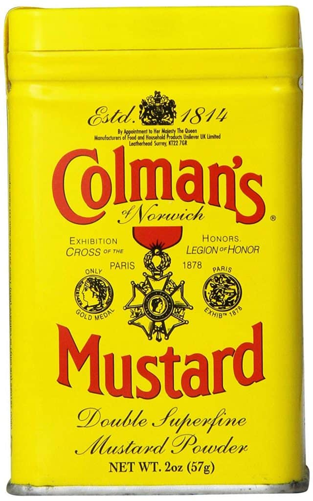 Colemans powdered mustard