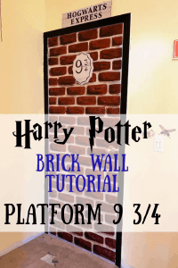 harry potter brick wall
