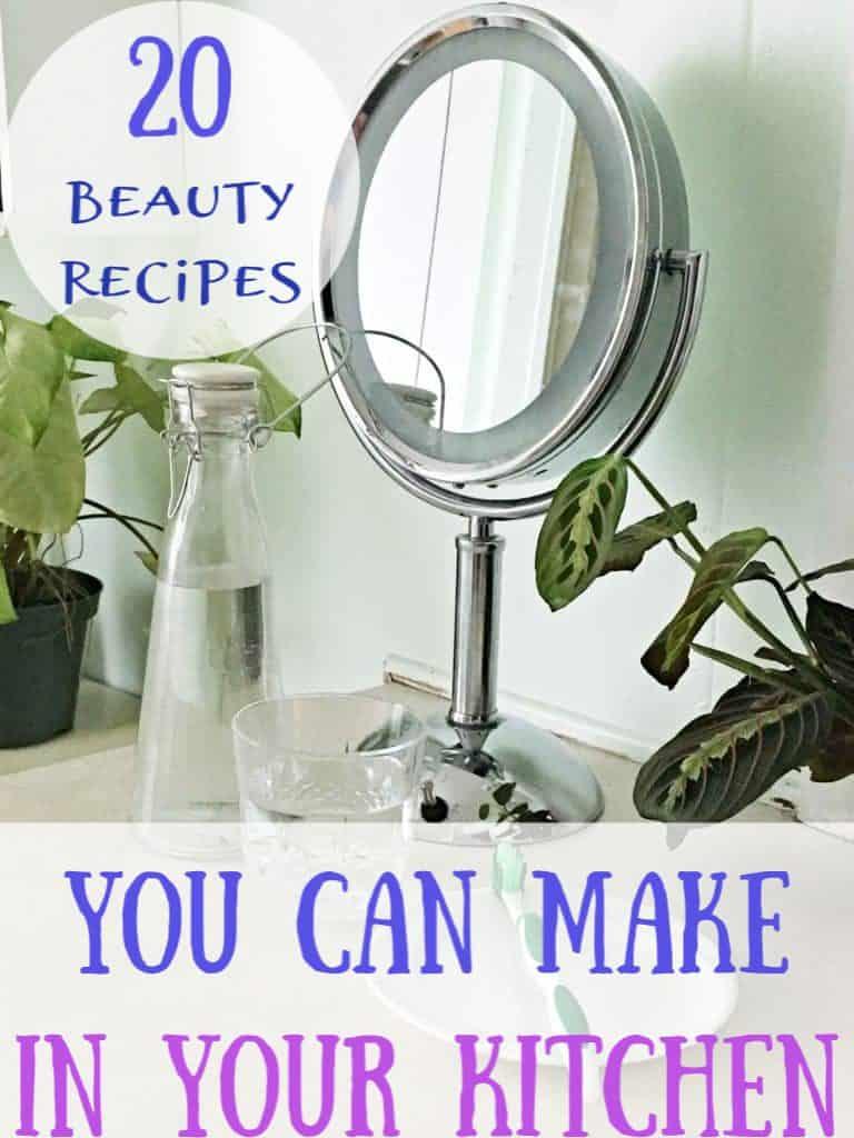 20 DIY Beauty Hacks using household items