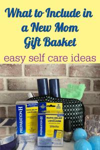 new mom gift basket ideas
