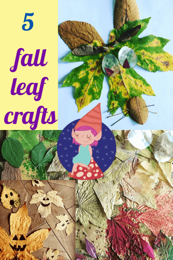 6 Dried Leaf Art Crafts for Kids this Fall - Crafty Little Gnome