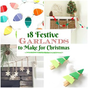 Christmas garlands to diy